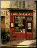 Vins De Bourgogne Mounted Print by Chiu Tak-Hak