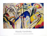 Komposition 4 ,1939 Posters by Wassily Kandinsky