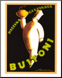 Buitoni 1928 Mounted Print by Federico Seneca