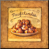 Profiteroles Mounted Print by Charlene Winter Olson