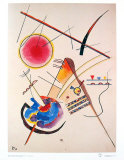 Aquarelle Gastebuch,1925 Psters por Wassily Kandinsky