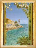 Fenster aufs Meer Poster von Andrea Del Missier