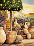 Lemon Topiary Posters by Eduardo Moreau