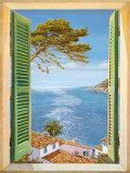 Fenster auf die Bucht Kunstdrucke von Andrea Del Missier