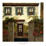 Three Windows Prints by Montserrat Masdeu
