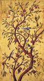 Rodolfo Jimenez - Plum Tree Panel I Obrazy