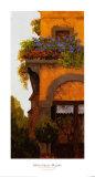 Verona Balcony I Poster by Montserrat Masdeu