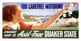 Quaker State Motor Oil Giclee Print by Sascha Maurer