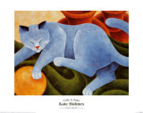 Cats and Pots Posters van Kate Holmes