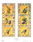Tuscan Olive Panels Prints by Julia Junkin