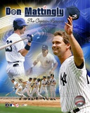 "Don Mattingly - ""The Captain Returns"" Composite Photo"
