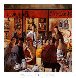 Cafe New York Prints by Didier Lourenco