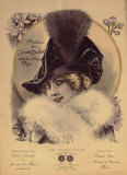 Hats from Expostion Universalle, Paris, 1900 Prints