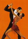 Tango Posters af Aline Bureau