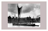 Royal Victoria Docks Docklands London Barge, 1934 Posters