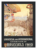 Universal and International Exhibition of Brussels Giclee Print