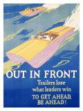 モチベーション向上のためのポスター - 一歩抜け出よう ジクレープリント : フランク・マザー・ビーティ