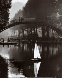 Canal Saint-Martin, 1984 Poster by Peter Turnley