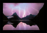 Milford Sound Lake Prints by Daryl Benson