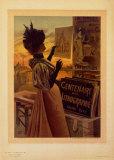 Centennaire de la Lithographie Art by Hugo D'Alesi
