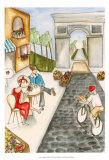 Parisian Holiday II Posters by Jennifer Goldberger