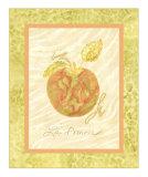 La Pomme Print by Nancy Slocum