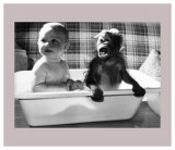 Bath With a Little Friend Posters