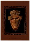 African Mask I Prints by Chariklia Zarris