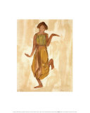 Danseuse cambodgienne Poster par Auguste Rodin