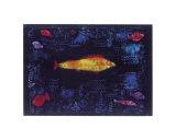 Le poisson rouge Affiches par Paul Klee