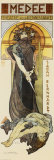 Medee Posters by Alphonse Mucha
