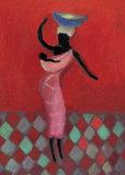 La femme et l'enfant Affiches par Aurelia Fronty