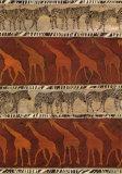 Zebras und Giraffen Kunstdrucke von Ben Ouaghrem