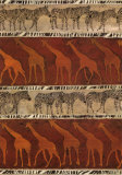 Zebras and Giraffes Prints by Ben Ouaghrem