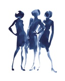Three Women's Print by Aurore De La Morinerie
