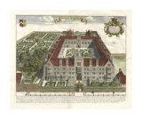 Collegium Wadkamense Giclee Print by  Loggan