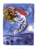 Bucht der Engel Kunstdrucke von Marc Chagall