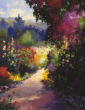 Valley Road in Bloom Prints by Hans Ressdorf
