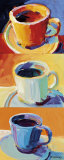 Three Cups o' Joe I Prints by Robert Burridge