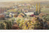 View From the Vineyard I Posters by Roberto Lombardi