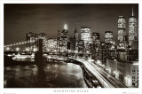 Nuit sur Manhattan Affiches