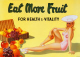 Eat More Fruit Arte