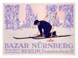 Bazar Nurnberg Giclee Print by Carl Kunst