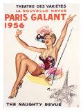 Paris Gallant Giclée-trykk