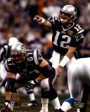 Tom Brady and Daniel Koppen - Super Bowl XXXVIII&#169;Photofile Photo