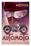 Automoto Giclee Print by Max Ponty