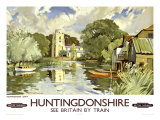 Huntingdonshire Giclee Print by Edward Wesson