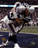 Deion Branch and Tom Brady - Super Bowl XXXVIII Touchdown Celebration©Photofile Photo