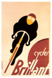 Cycles Brillant Giclee Print by Adolphe Mouron Cassandre
