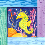 Seafriends - Seahorse Prints by Paul Brent